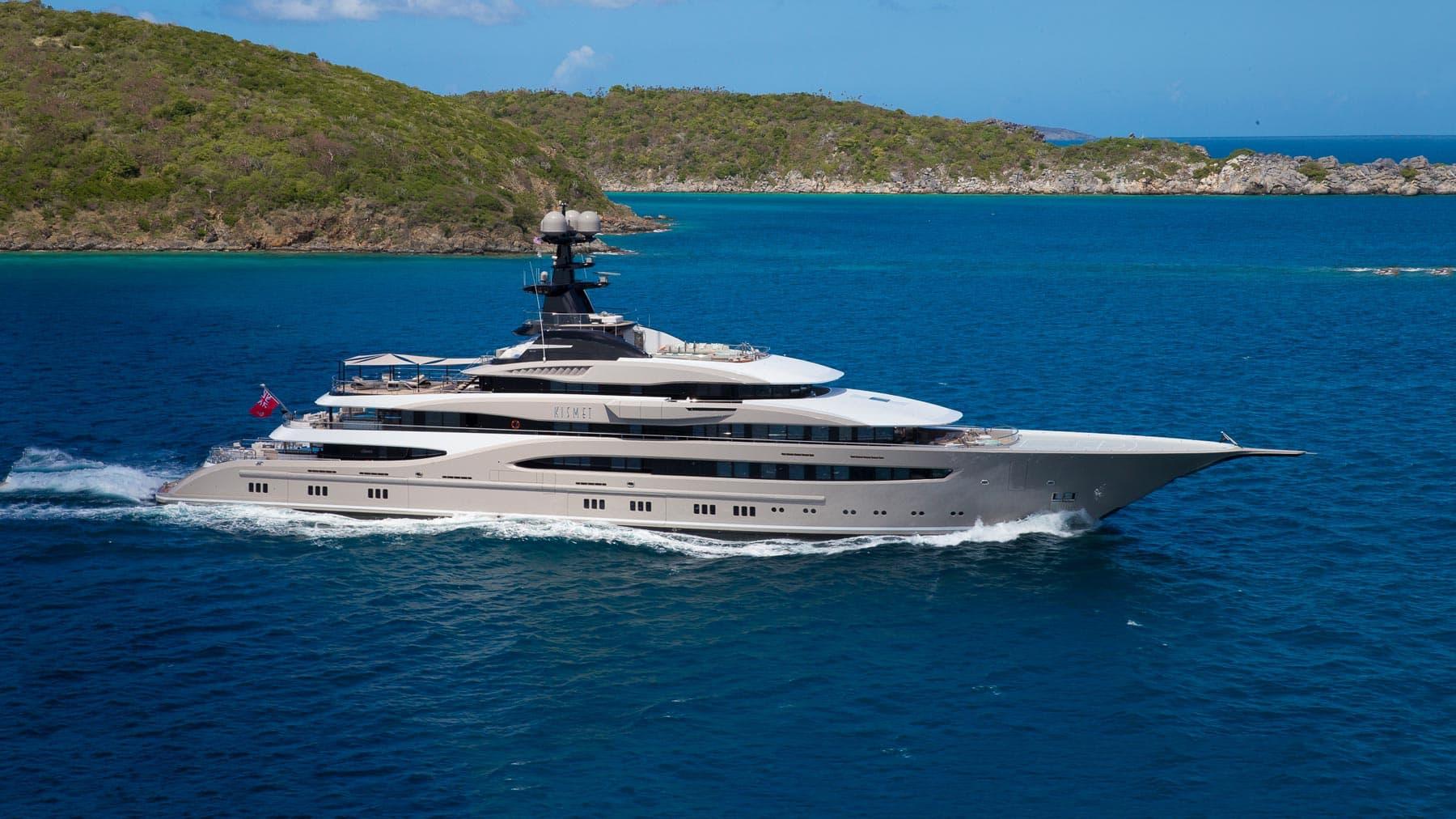 Lurssen Yacht KISMET Profile