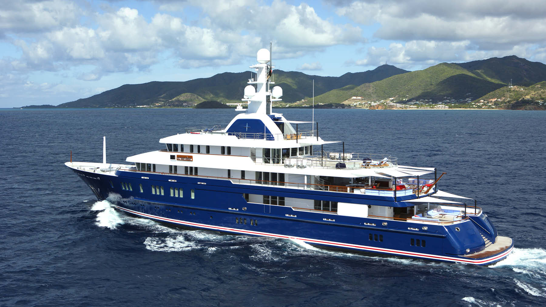 Northern Star was built for an extremely experienced and